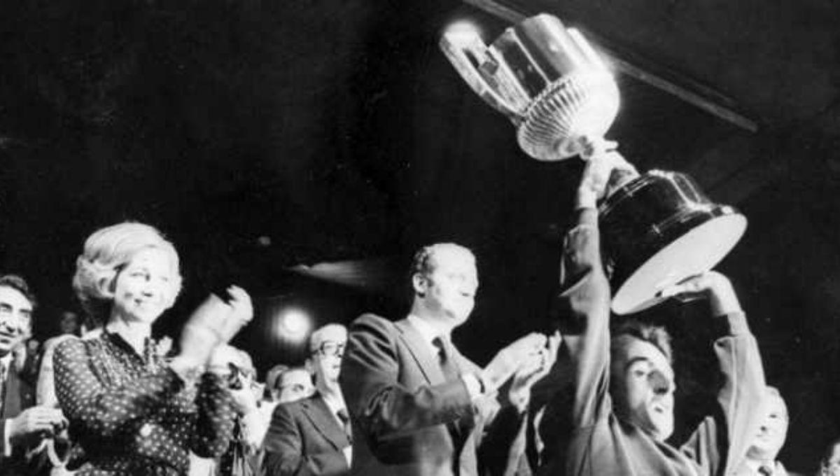 Real Betis campeón de Copa 1977