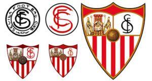 Evolución del escudo del Sevilla FC